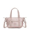Bolsa Kipling Art Mini Metallic Rose