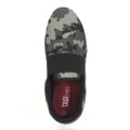 Tenis Slip On Tag Shoes Lona Elástico Camuflado