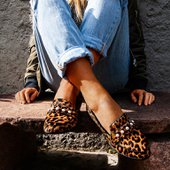 Loafer Mel Animal Print