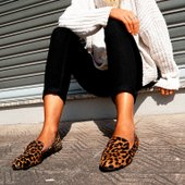 Slipper Animal Print