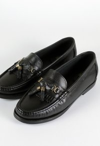 COLLEGE SHOES mocassim - preto