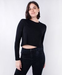 Blusa Cropped Visco Air