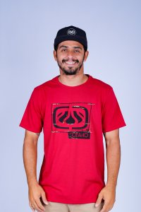 CAMISETA OCEANO LOGO SQUARE RECICLE