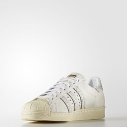 Tênis Adidas Feminino SuperStar 80s White | BY9075