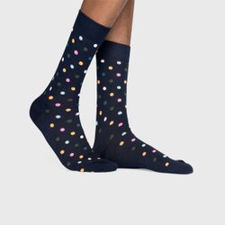 Meia Happy Socks Poá | DOT01-6003