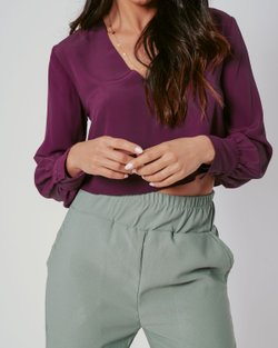 BLUSA CROPPED SASHA LISA