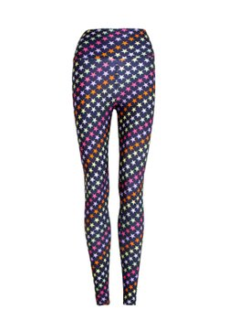 Legging Cós Estampada Colours Stars