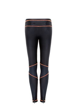 Legging Recortes Neon Orange