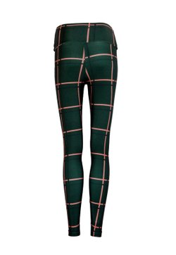 Legging  Lycra Cós Estampada Grid Hunter By Gabi Rossi