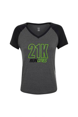 Camiseta Feminina Run Cities 21K