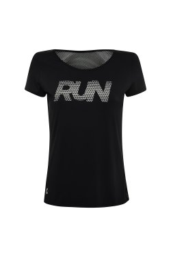 Camiseta Com Tela Run