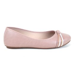 Sapatilha Tag Shoes Tiras Nude