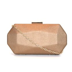 Clutch Emporionaka Hexagonal Bronze