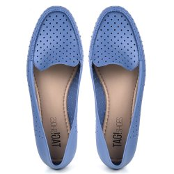 Mocassim Tag Shoes PVC Colors Azul