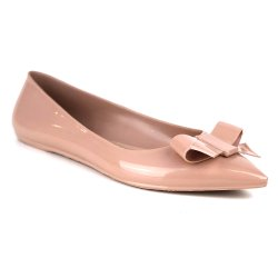Sapatilha Tag Shoes PVC Bico Fino Colors Nude