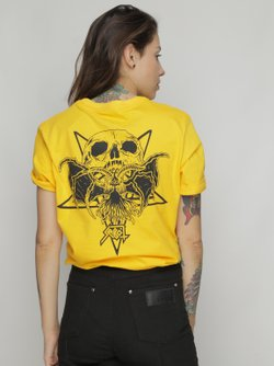 Camiseta Relentless Amarelo