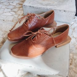 OXFORD #30 CONHAQUE - NUU SHOES