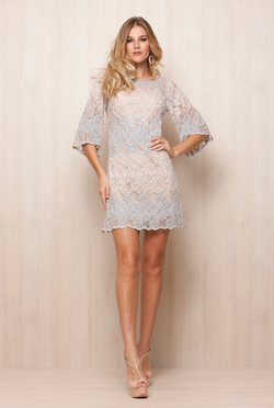 Vestido Renda Light Bordado