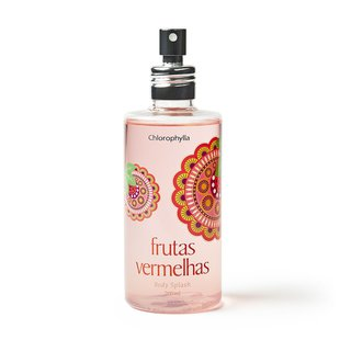 Body Splash Frutas Vermelhas