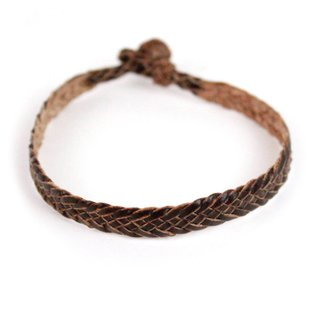 Pulseira - Treccia Brown | Treccia Bracelet Brown