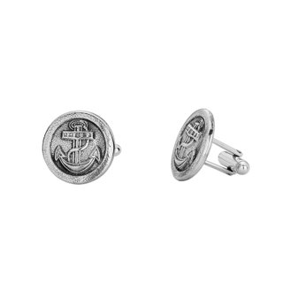 Abotoadura - Atlantic 100% Prata | Cufflinks - Atlantic 100% Silver
