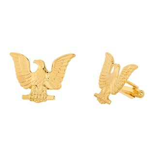 Abotoadura - Eagle banhado a Ouro 18k | Cufflinks - Eagle 18k gold plated