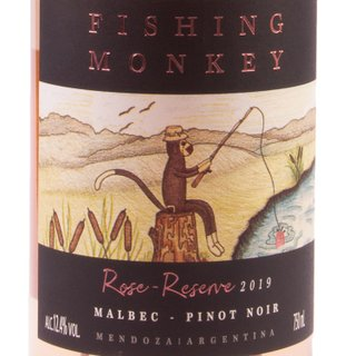 Vinho Fishing Monkey Reserve Rose 750ml  | Vinho Fishing Monkey Reserve Rose 750ml