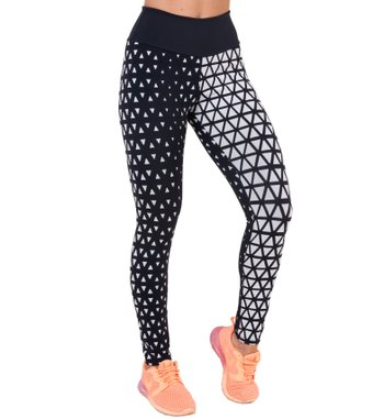 Legging Essencial BW Triangles Jacquard