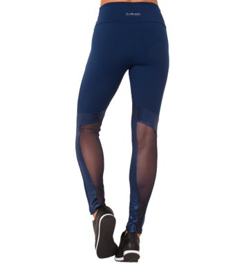 Legging Physical Navy Tulle
