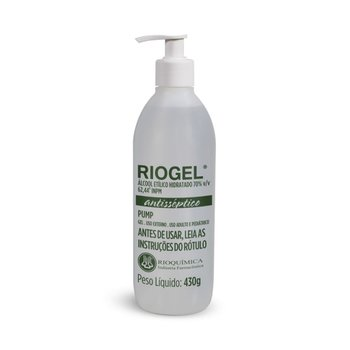 Alcool 70% Gel 430g Riogel