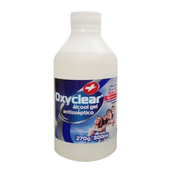álcool gel 70% Oxyclear 300ml