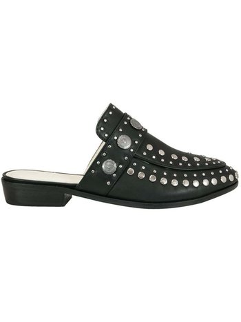 BETA BLACK STUDDED