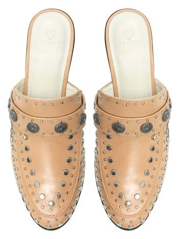 BETA BLUSH STUDDED