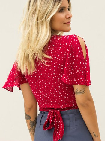 Blusa Crush Stars Red