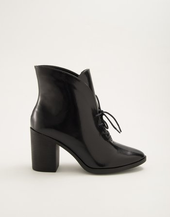ANKLE BOOT BOX PRETO