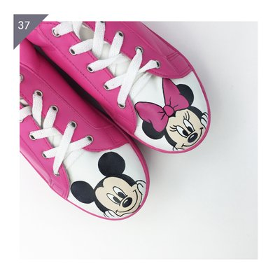 Mickey e Minnie Pink