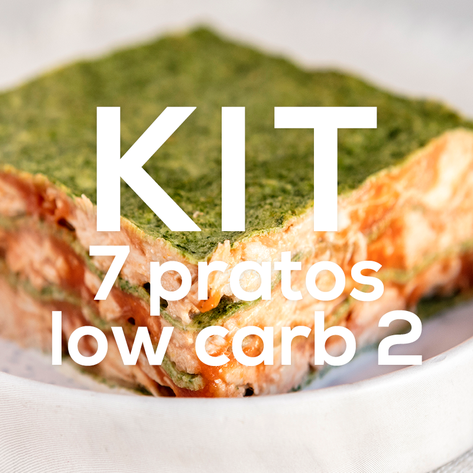 Kit 7 Pratos Low Carb 2
