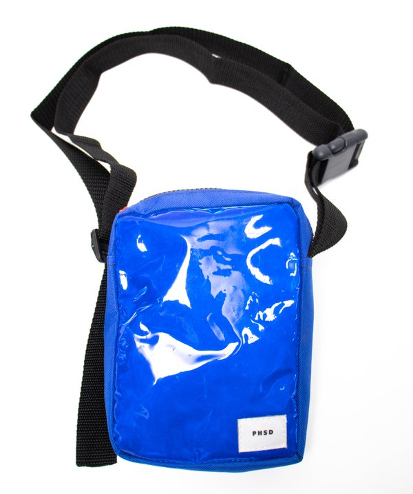 BOLSA PHSD SHOULDER BAG REFLETIVA AZUL