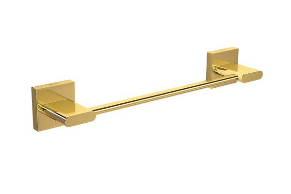 Foto do produto Porta Toalhas Deca Polo 33 200mm Gold Barra 2040