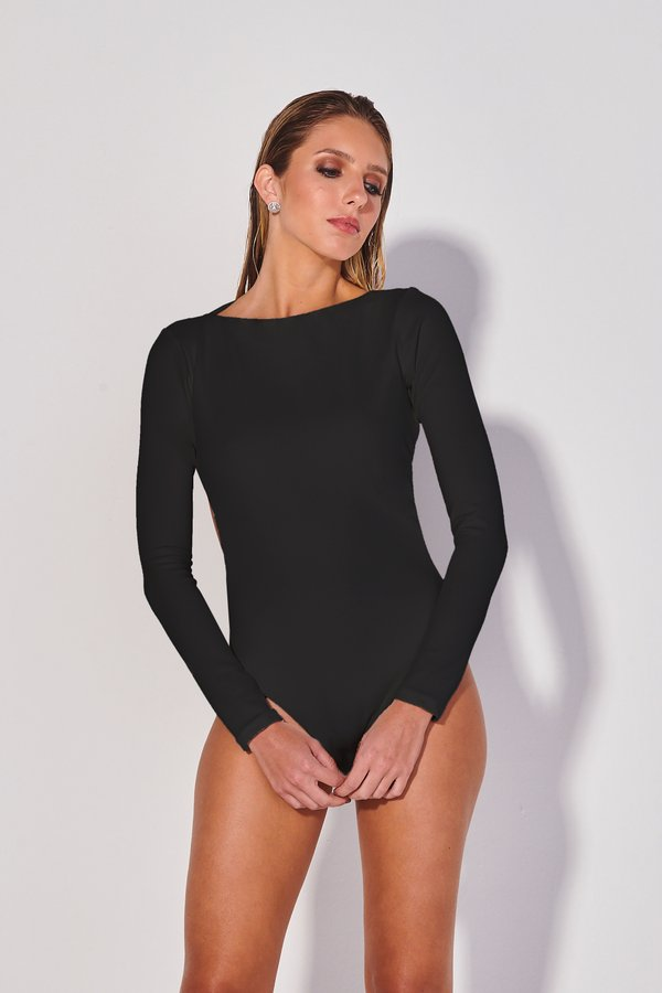 Foto do produto Body Indi Preto | Indi One-Piece Black
