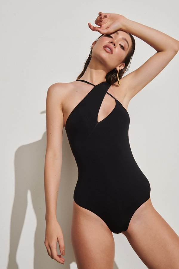 Foto do produto Body Felix Preto | Felix One-Piece Black