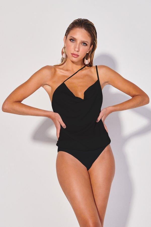 Foto do produto Body Galena Preto | Galena One-Piece Black