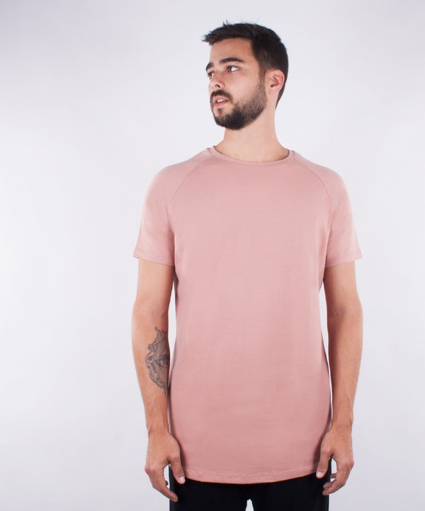 Camiseta Cotton Edge - Nude