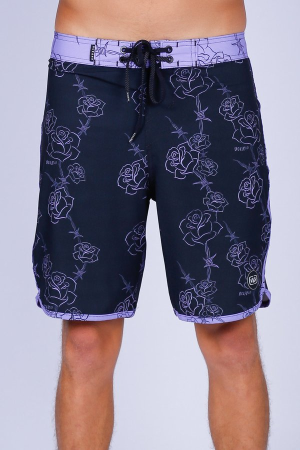 BERMUDA BOARDSHORT ROSAS COLLAB HEDI PERFORMANCE STRETCH