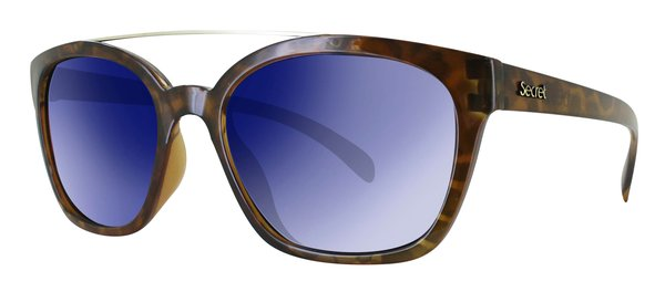 ÓC SECRET DEBBIE HAVANA TURTLE / POLARIZED BLUE