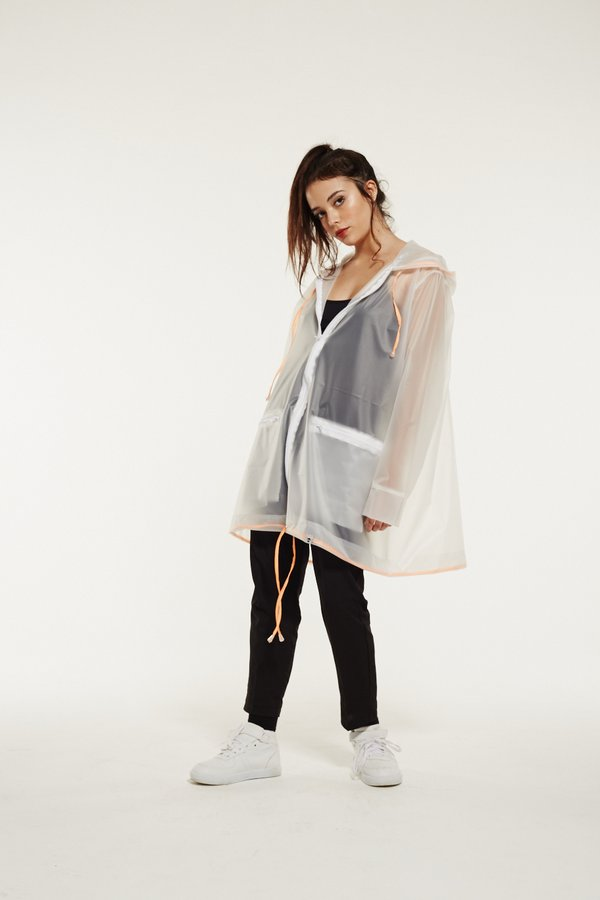 Raincoat Ed. #5 Translucent White