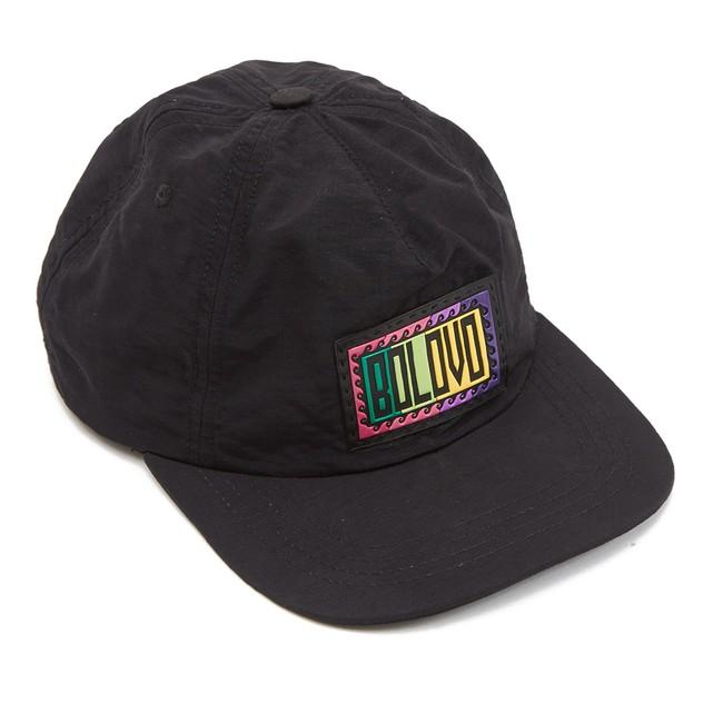 carregando o zoom. 80s Tactel Hat Preto f45c7294beb