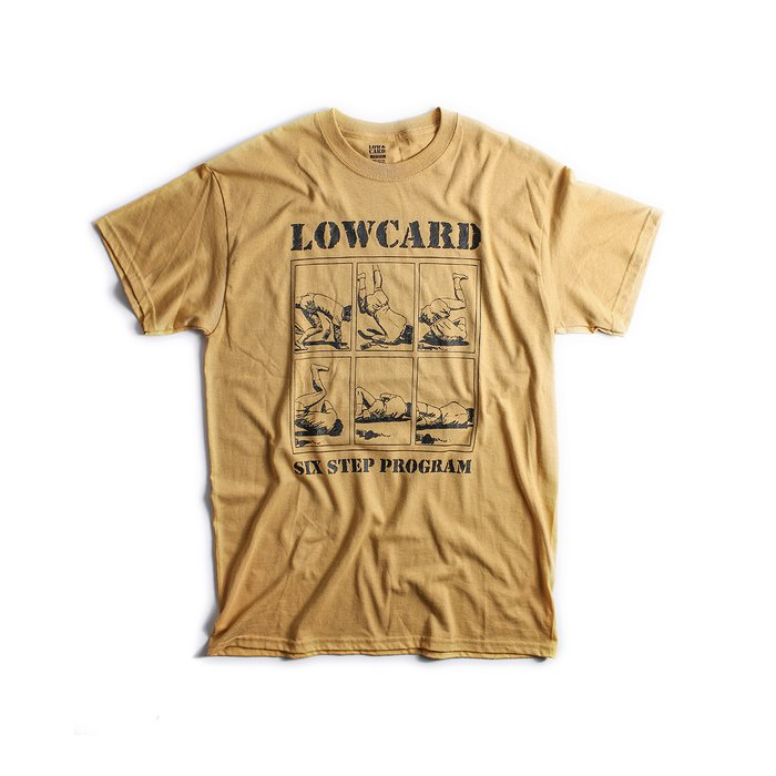 CAMISETA LOW CARD 6 STEP