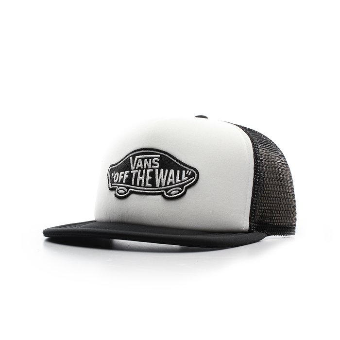 BONÉ VANS CLASSIC PATCH TRUCKER WHITE/BLACK