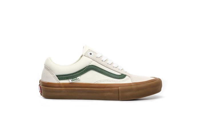 TÊNIS VANS OLD SKOOL PRO MARSHMALLOW/WHITE